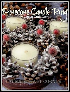 http://ginascraftcorner.blogspot.com/2013/11/mini-pinecone-wreath-mason-jar-lids.html