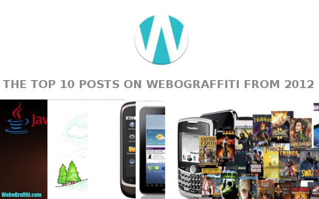 The Top 10 Posts on WeboGraffiti 2012