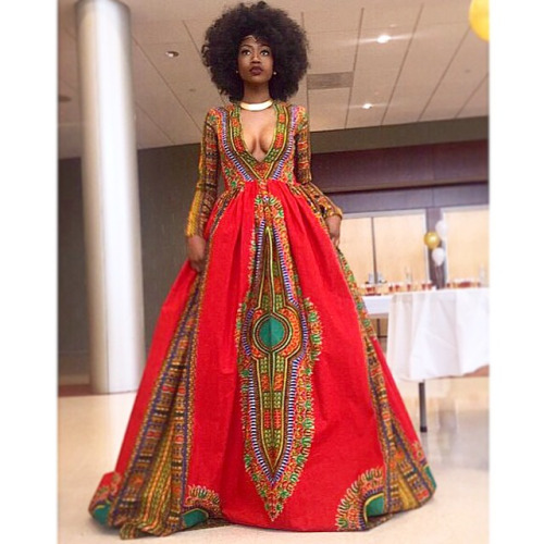 tenue africaine wax