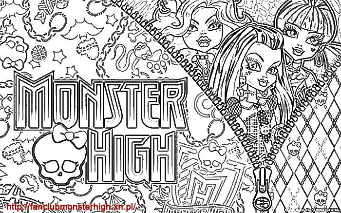 Koloroi Monster High