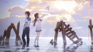 تقرير عن الانمي الخيالي Nagi no Asukara  Nagi-no-Asukara