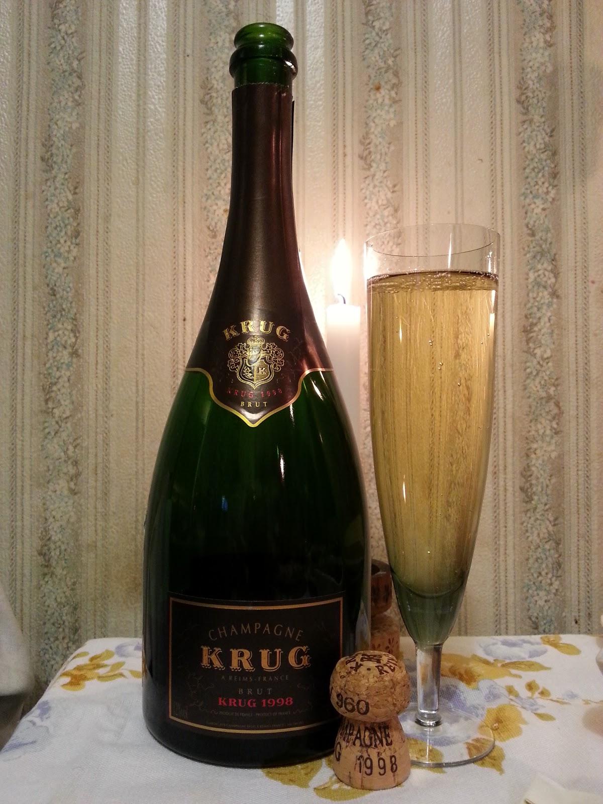 brut Krug vintage