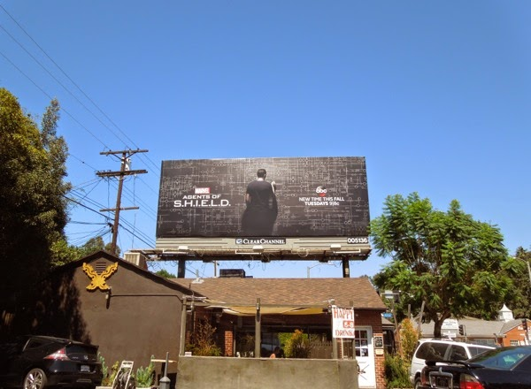 Agents of SHIELD season 2 billboard