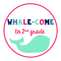 Whale-come to 2nd Grade