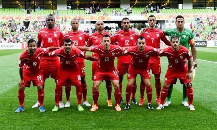Seleção Palestina de Futebol