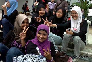 Flashmob di MSU (: