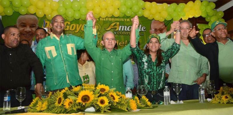 Escogen a Héctor Peguero como candidato a alcalde por San Cristóbal