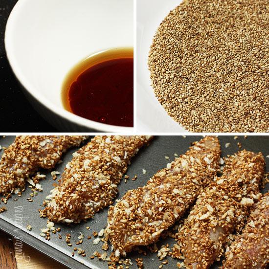 ... chicken tenders sesame encrusted baked chicken sesame encrusted baked