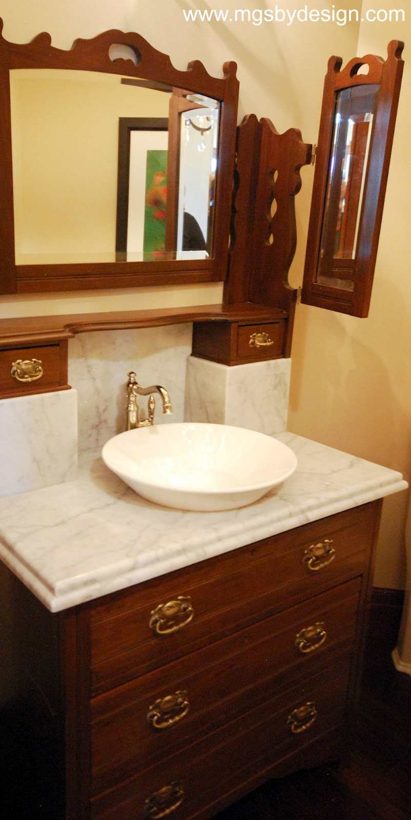 The Granite Gurus Carrara Marble Powder Bath Amp Galaxy
