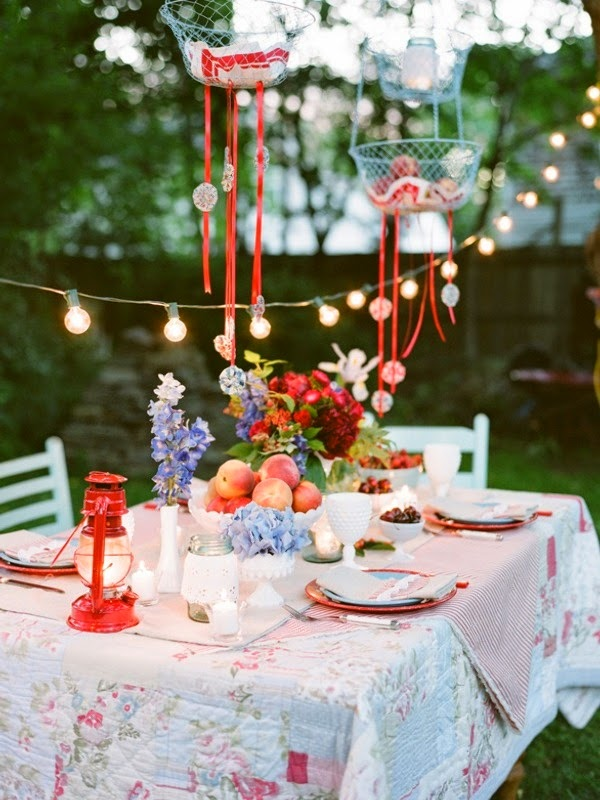 Summer garden party inspiration