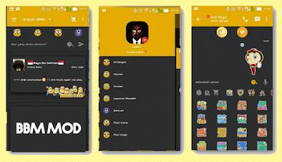 Download BBM MOD Minion APK V.2.9.0.51 Terbaru
