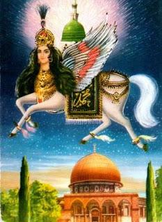 Binatang Mitologi Dunia yang Melegenda - Buraq