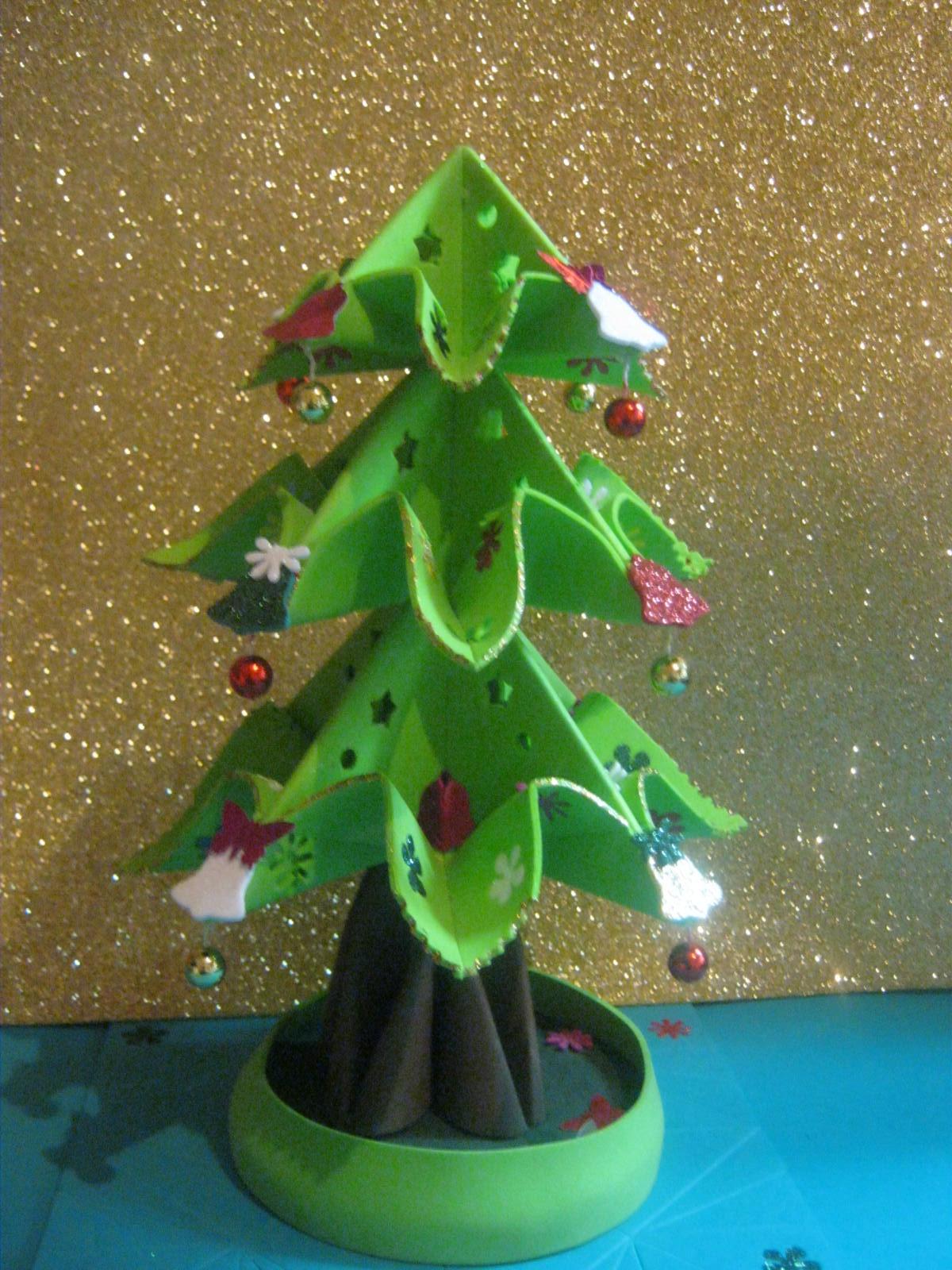 Mis fofuchas 2013 artfoamicol nuevo arbolito de navidad - Tutorial arbol de navidad ...