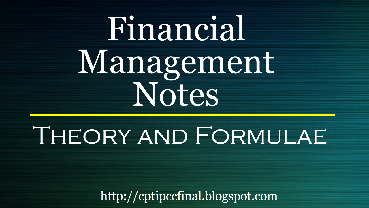 financial management note