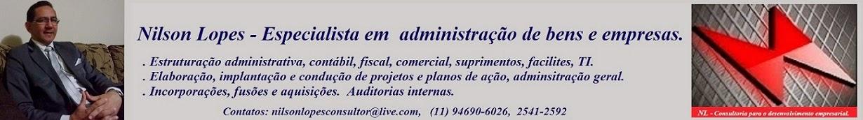 Nilson Lopes - Consultoria para o desenvolvimento empresarial.