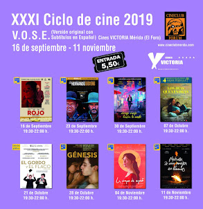 XXXI CICLO DE CINE VOSE - Cines Victoria Mérida