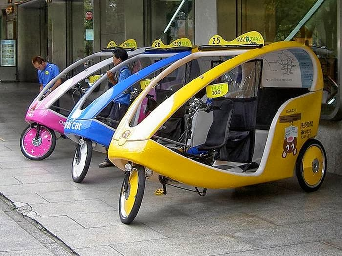 Tokyo Taxi Bike