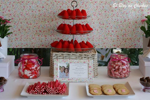 Chechus cupcakes valencia - Mesa de chuches casera ...