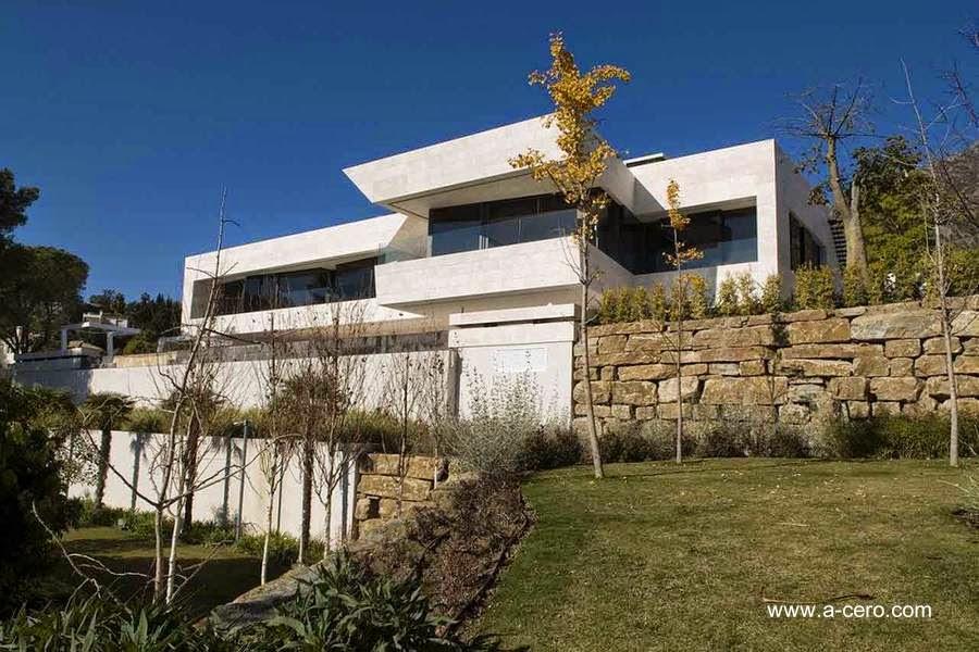 Residencia contemporánea en Marbella arquitectura de A-cero