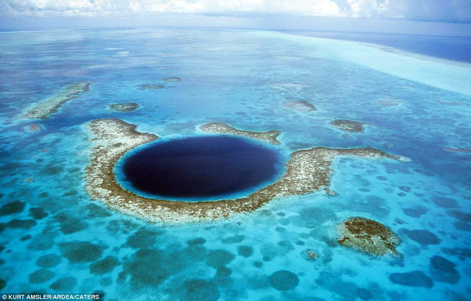 The Great Blue Hole, Brasil