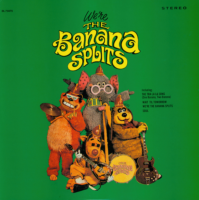 WE'RE THE BANANA SPLITS - THE BANANA SPLITS