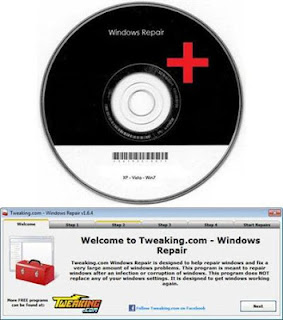 Windows Repair is an all-in-one repair tool to help fix Internet Explorer, Windows Update, Windows Firewall