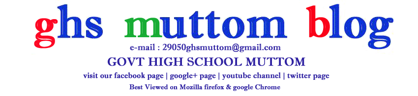 ghs muttom blog
