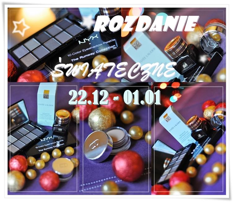 rozdanie, candy, blog, kosmetyki, makijaż, dior, estee lauder, wizaż, konkurs