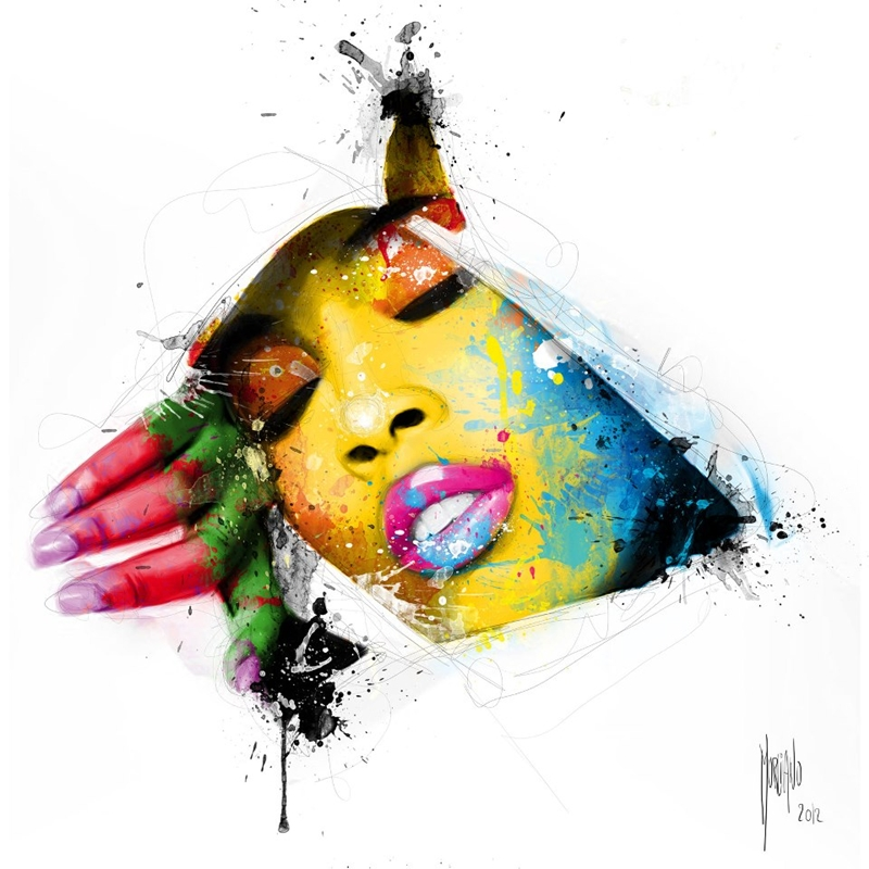 Patrice Murciano 1969 | French Figurative painter | Pop Art portrait