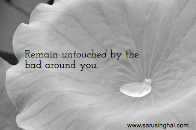 Quote, Bad, Unaffected, Untouched