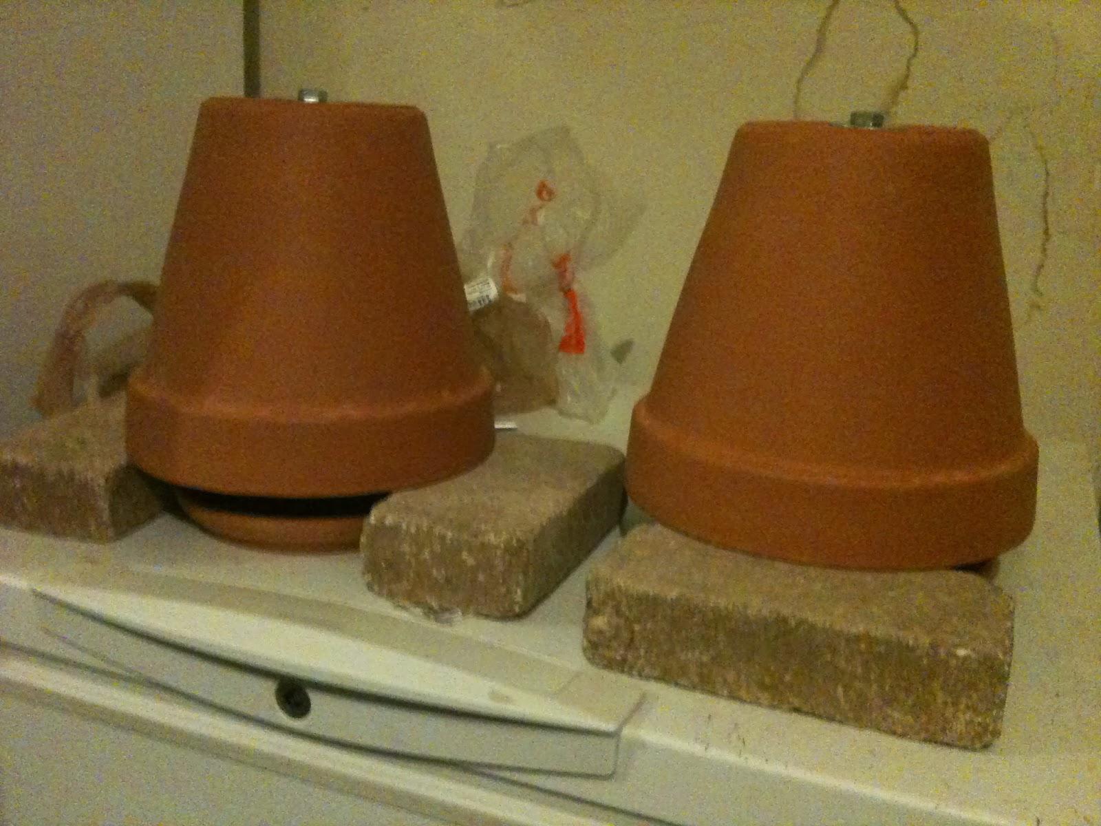 The Haphazard Prepper Flower Pot Heater