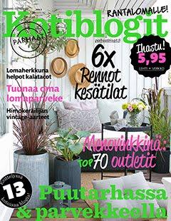 Kurkista kotiimme uusimmassa Kotiblogit -lehdessä