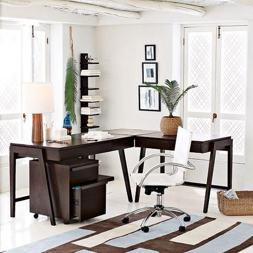decora y disena oficina minimalista idea para trabajar