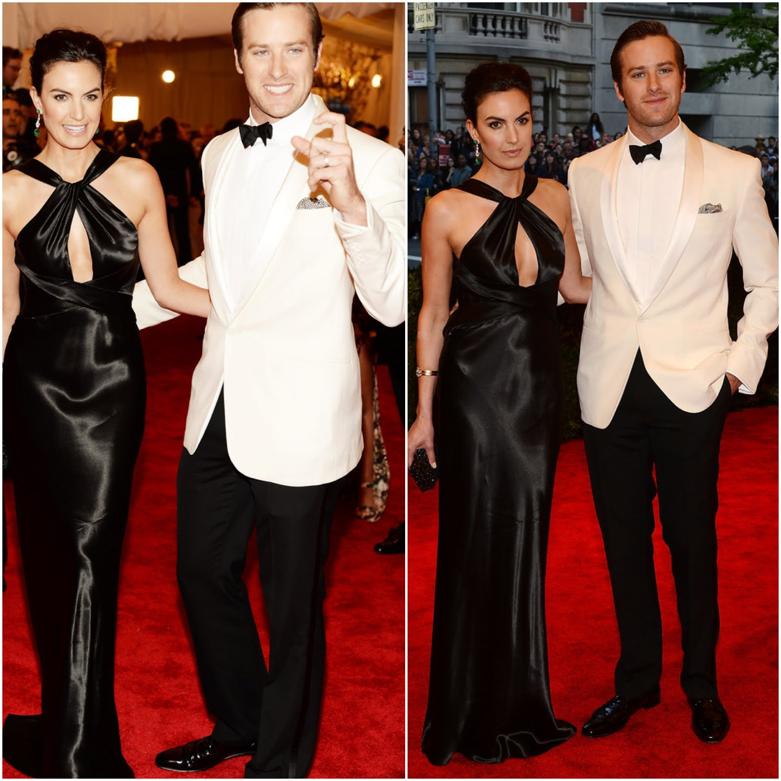 00O00 Menswear Blog : Armie Hammer in Ralph Lauren Black Label - 'PUNK: Chaos To Couture' Costume Gala May 2013