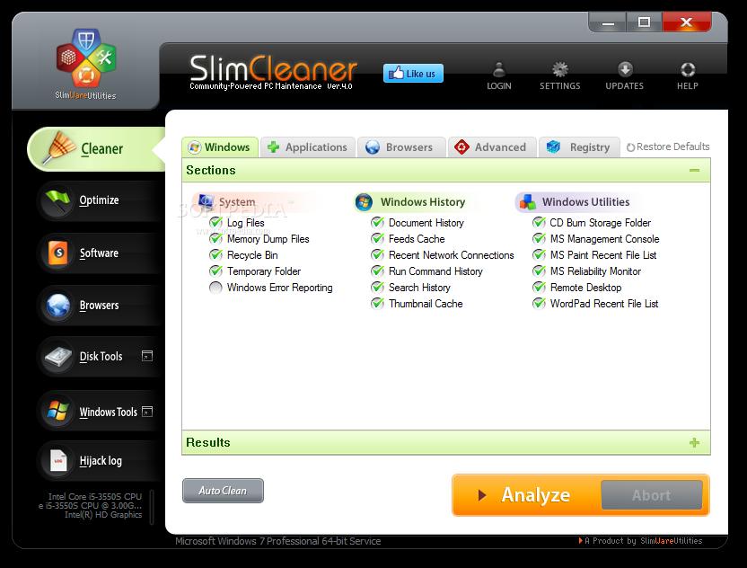 تحميل برنامج SlimCleaner عملاق صيانة وتنظيف الجهاز