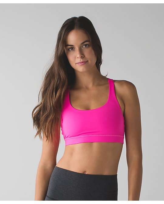 lululemon raspberry-glo-energy-bra