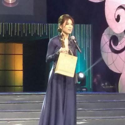 Toni Gonzaga received award for FAMAS 'best actress.'