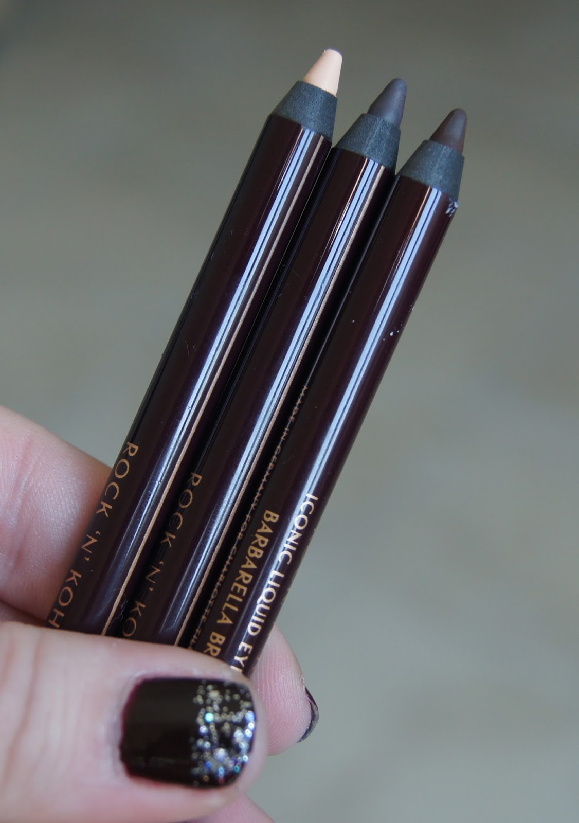 Charlotte Tilbury Rock n Kohl iconic liquid eye pencil review