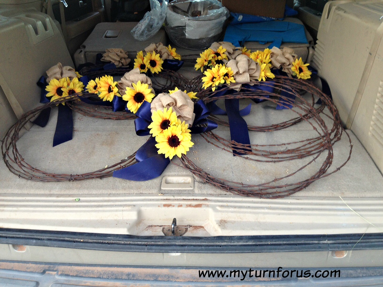 Rustic Barb Wire Wreaths