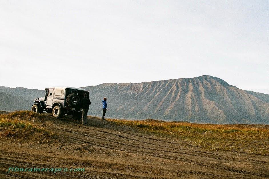 landscape of tengger caldera