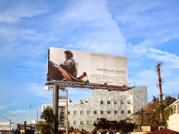 American Sniper film billboard