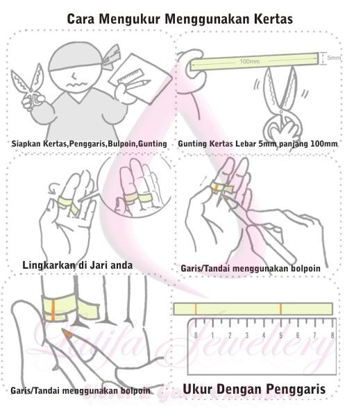 Cara Mengukur Cincin