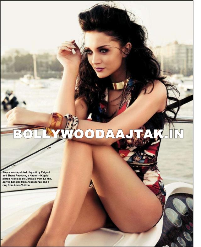 Amy Jackson hot Scan1 - Amy Jackson Hello Mag HOt Scans