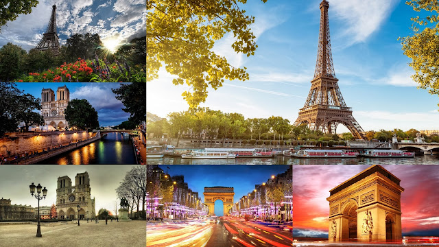 Lugares Famosos de Paris Francia