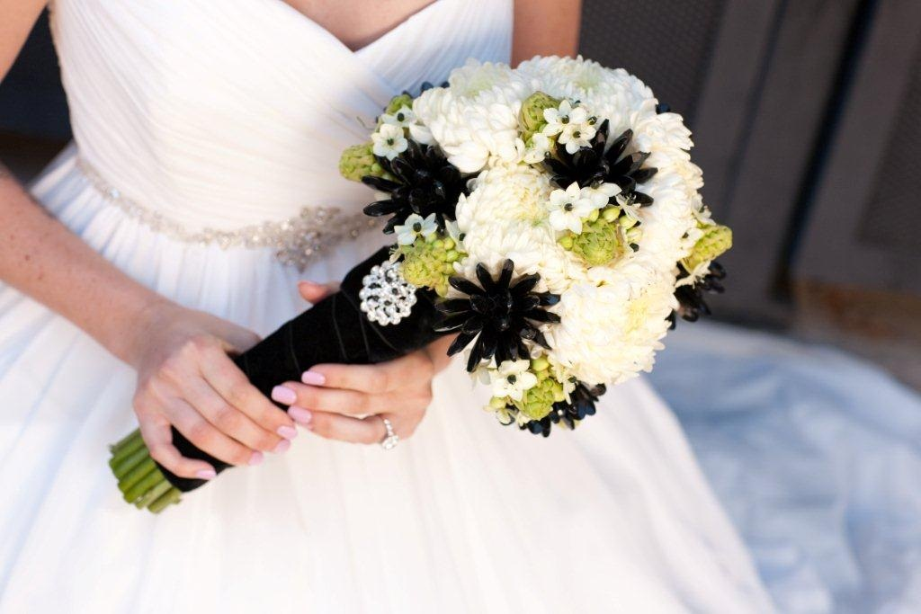 bridesmaid bouquets real weddings