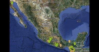 SISMOS MEXICO, 15 DE NOVIEMBRE 2012