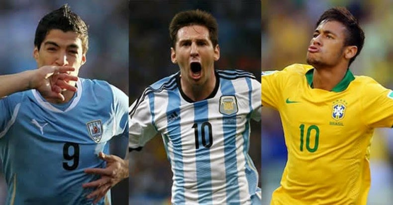 10 Pemain Terbaik Amerika Selatan 2015