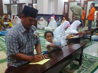 Pemilu Takmir Masjid Perak Kotagede 2013