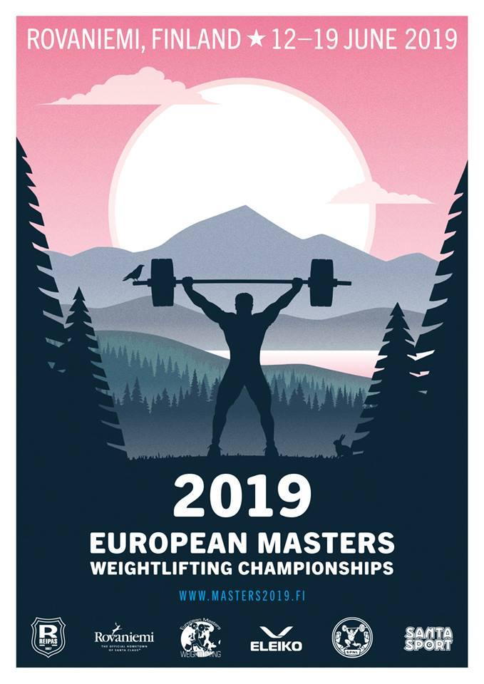 Campeonato Europa Halterofilia Máster 2019: