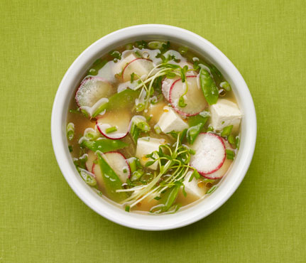 Tricia's Take: Miso Soup with Vegetables and Tofu - Rich ...